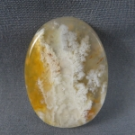 Graveyard Point Plume Agate Cabochon 237