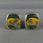 Bumblebee Sterling Silver Cuff Links
